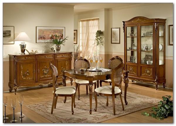 Mobili Buscemi  Arredamenti  Ottocento decorata sala