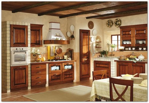 Mobili Buscemi  Arredamenti  Cucina Isotta noce massello Mediterranea cucine