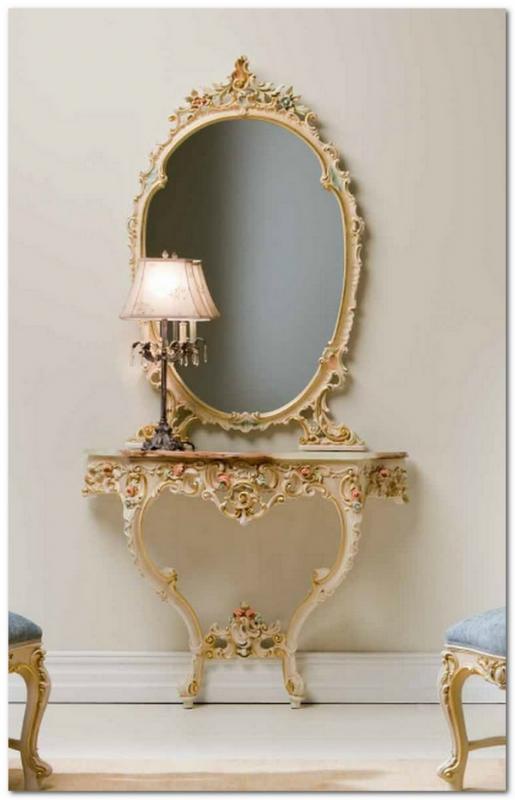 Mobili Buscemi  Arredamenti  Consolle in stile barocco veneziano 103102 colore 06