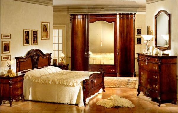 Mobili Buscemi  Arredamenti  Camera da letto Denise noce