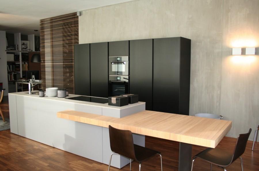 Cucina Modulnova Light e Blade a Bergamo  Sconto 40