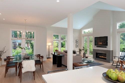 Camino e TVil punto focale del soggiorno  Mobili Di
