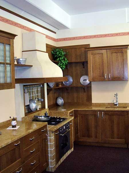 Cucine in finta muratura Forl Cesena  Moderne rustiche con penisola scontate economiche