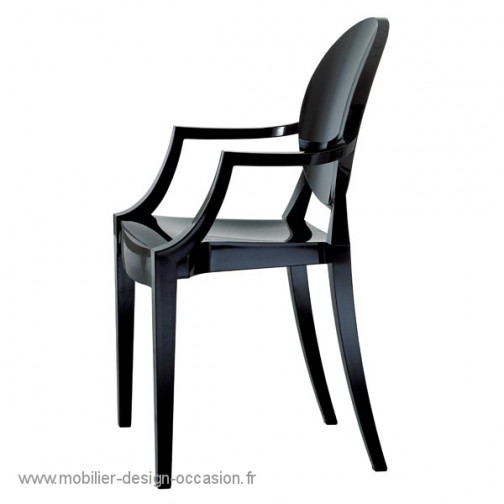 fauteuil louis ghost kartell philippe