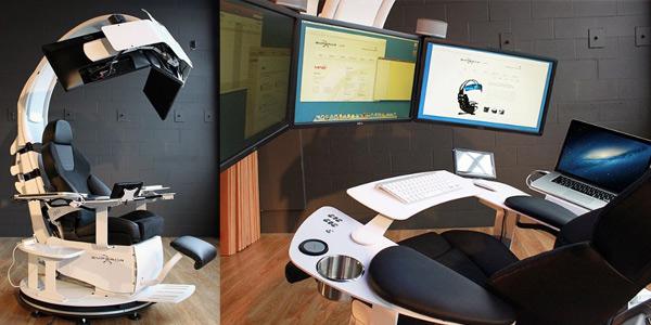 chaise de bureau geek