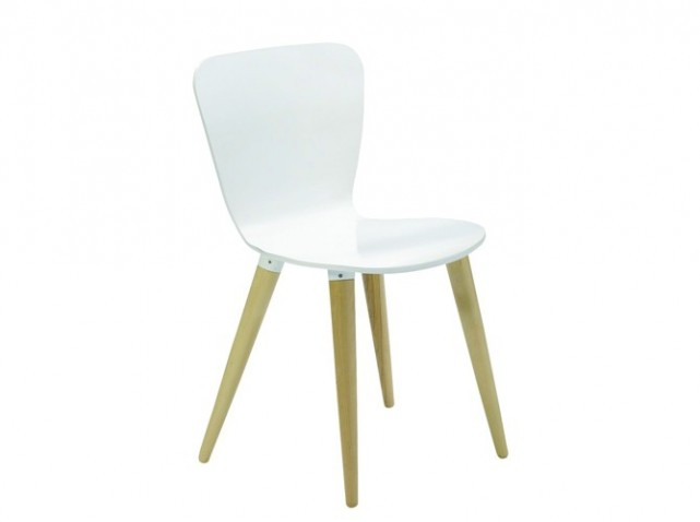 Chaise design cuisine chaise design cuisine salle manger - Chaises blanches ikea ...