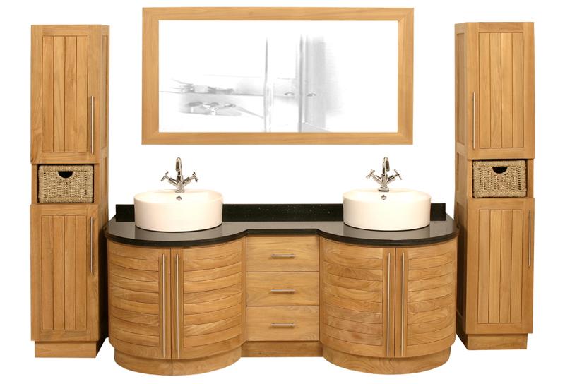 meuble salle de bain sans vasque » terrasse en bois - Meuble Salle De Bains Teck