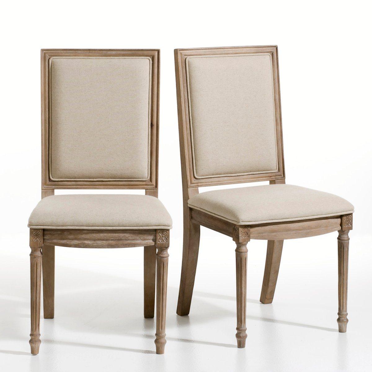 chaises de salle a manger louis xvi