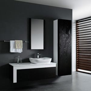 armoire salle de bain design