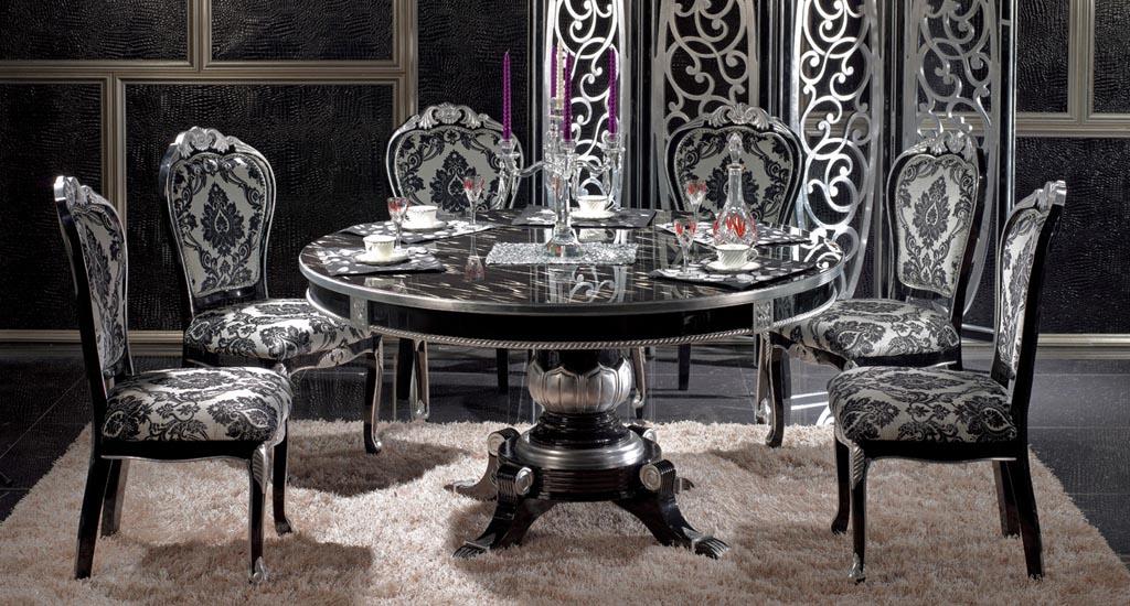 Dining Room Grey Floor