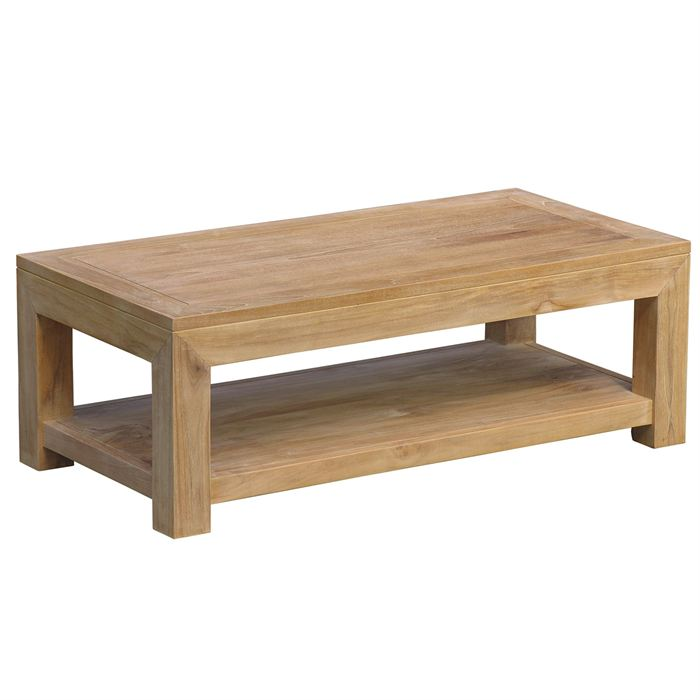 Table basse fait maison table basse en bois fait maison for Table fait maison
