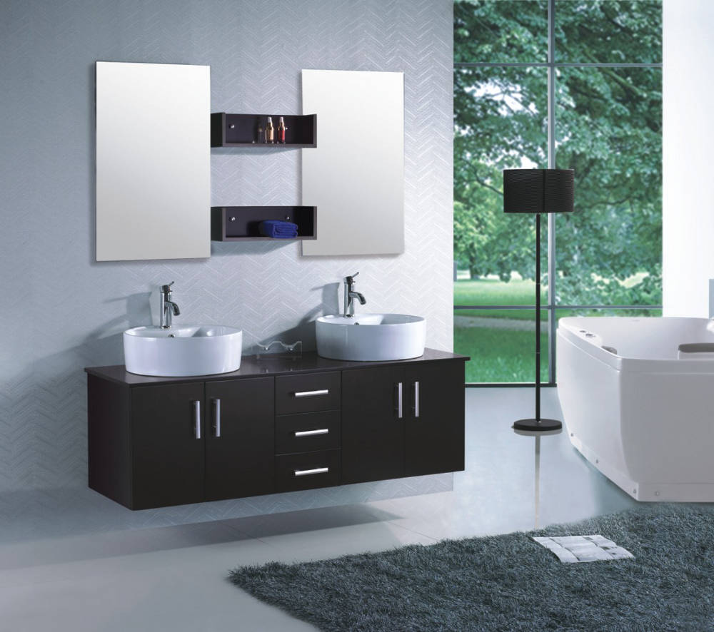 meuble salle de bain wenge ikea