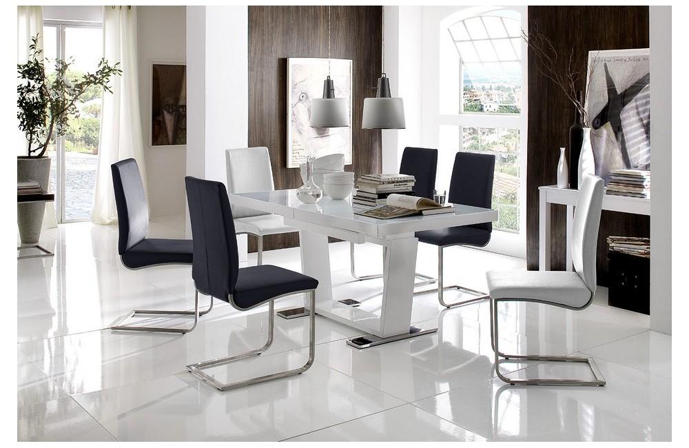 table et chaises de salle a manger design