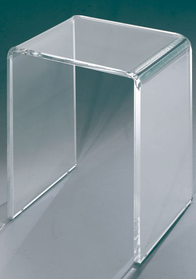 tabouret de douche transparent