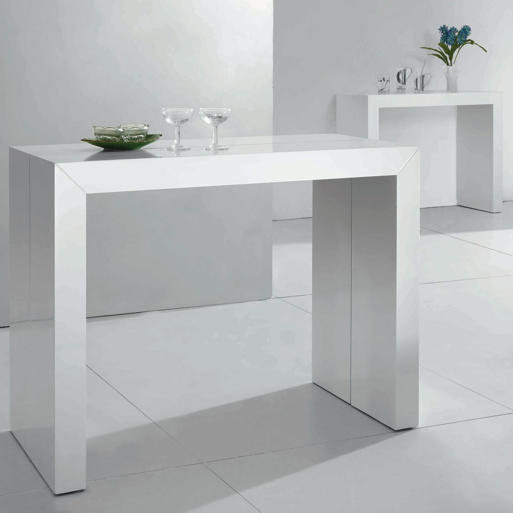 console murale pliante cheap table console pliable dans meuble achetez au meilleur prix table. Black Bedroom Furniture Sets. Home Design Ideas