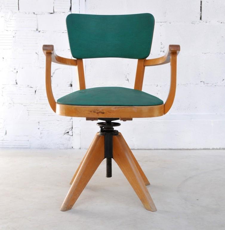 chaise de bureau retro d occasion troc
