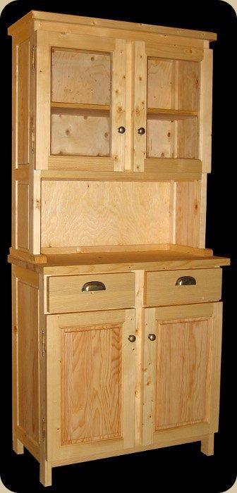 caisson cuisine bois massif