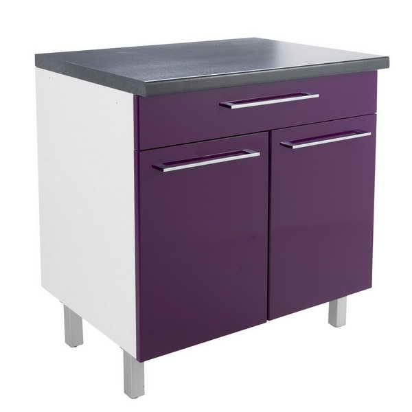 meuble bas cuisine 30 cm largeur