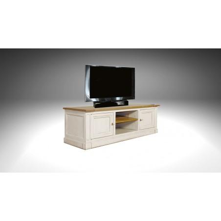 meuble tv 2 portes camargue meuble