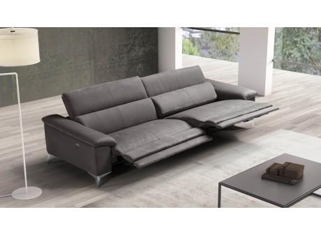 relaxation 2 ou 3 places en cuir ou tissu