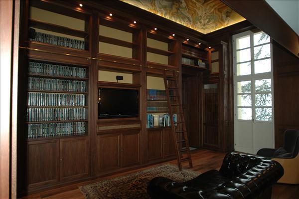 Boiserie studi professionali e librerie
