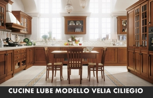 CUCINA CLASSICA LUBE VELIA CILIEGIO – Arredamento a Catania per la ...