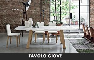 LIVING MODERNO TARGET POINT TAVOLI DA SALA TAVOLO GIOVE ...