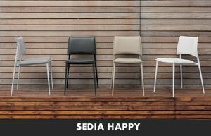 Sedie Ufficio Happy Casa : Living moderno target point sedie da cucina sedia happy