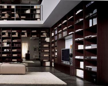 Parete Attrezzata Libreria Soggiorno
