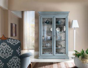 Mobile soggiorno moderno madia vetrina porta tv led parete attrezzata gihome®. Vetrinette In Legno Frassino Dal Classico Al Moderno Mobilificio Mirandola