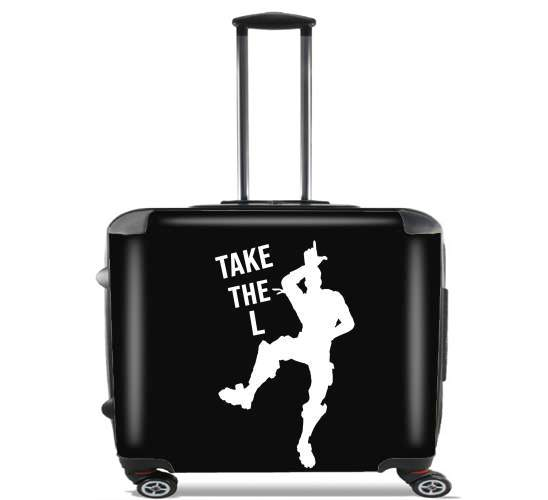 Wheeled Bag Cabin Luggage Suitcase Trolley 17 Laptop With