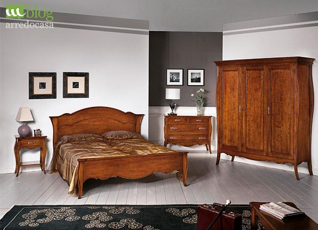 Camera da letto composta da un letto, un comò, due comodini, una specchiera e un armadio. Camera Da Letto Classico O Moderno M Blog