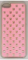 BABY PINK SNAP ON STUD CASE IPHONE 5C