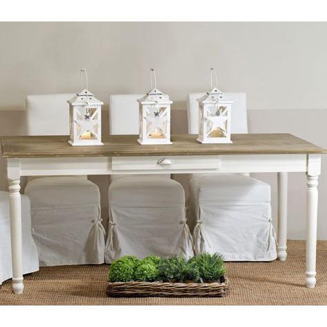 L'aquila design arredamenti table&chairs tavolo da pranzo shabby chic laccato bianco. Tavolo Provenzale Fisso 180x90 Mobili Provenzali Shabby Chic