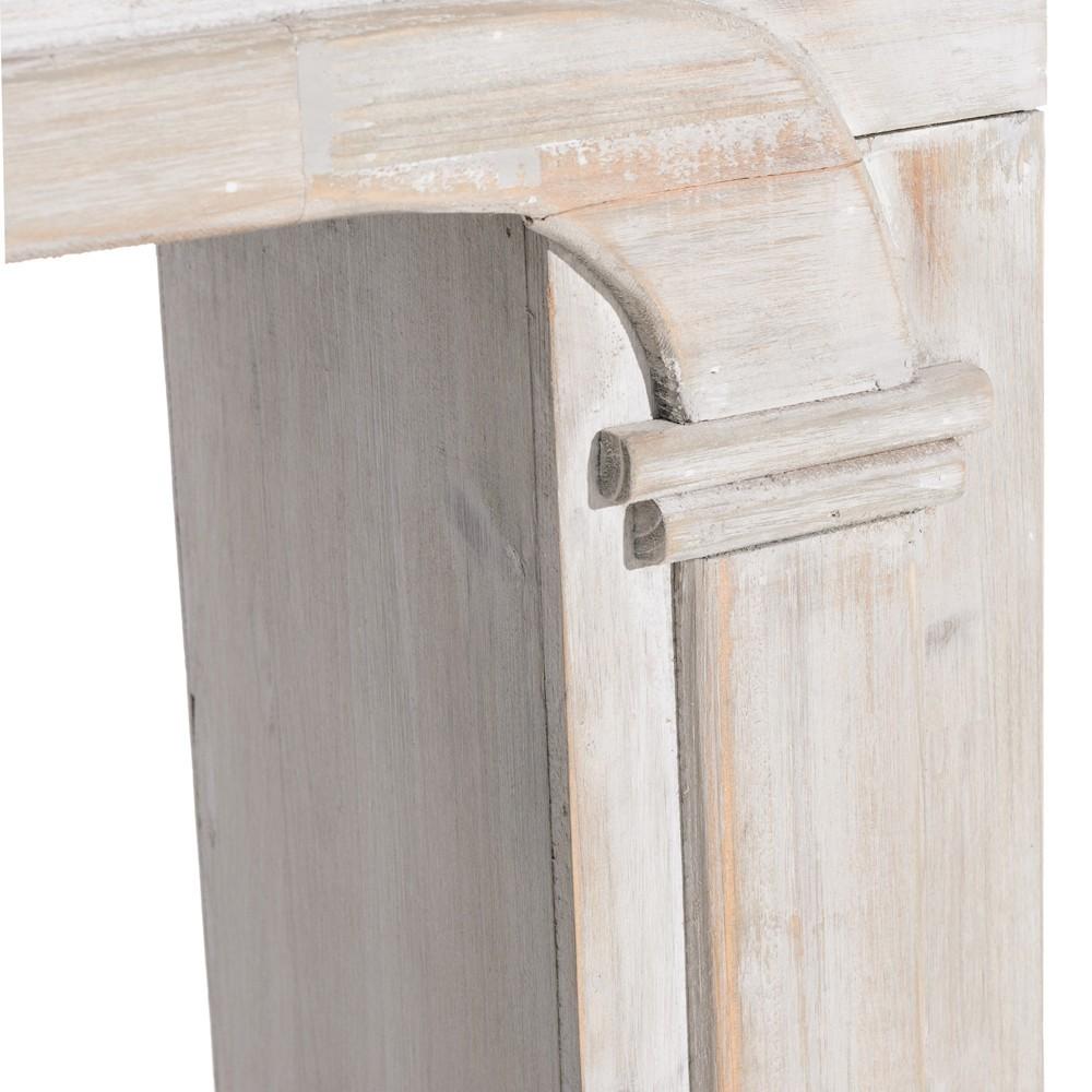 Cornice camino legno decapato  Mobili Provenzali Shabby