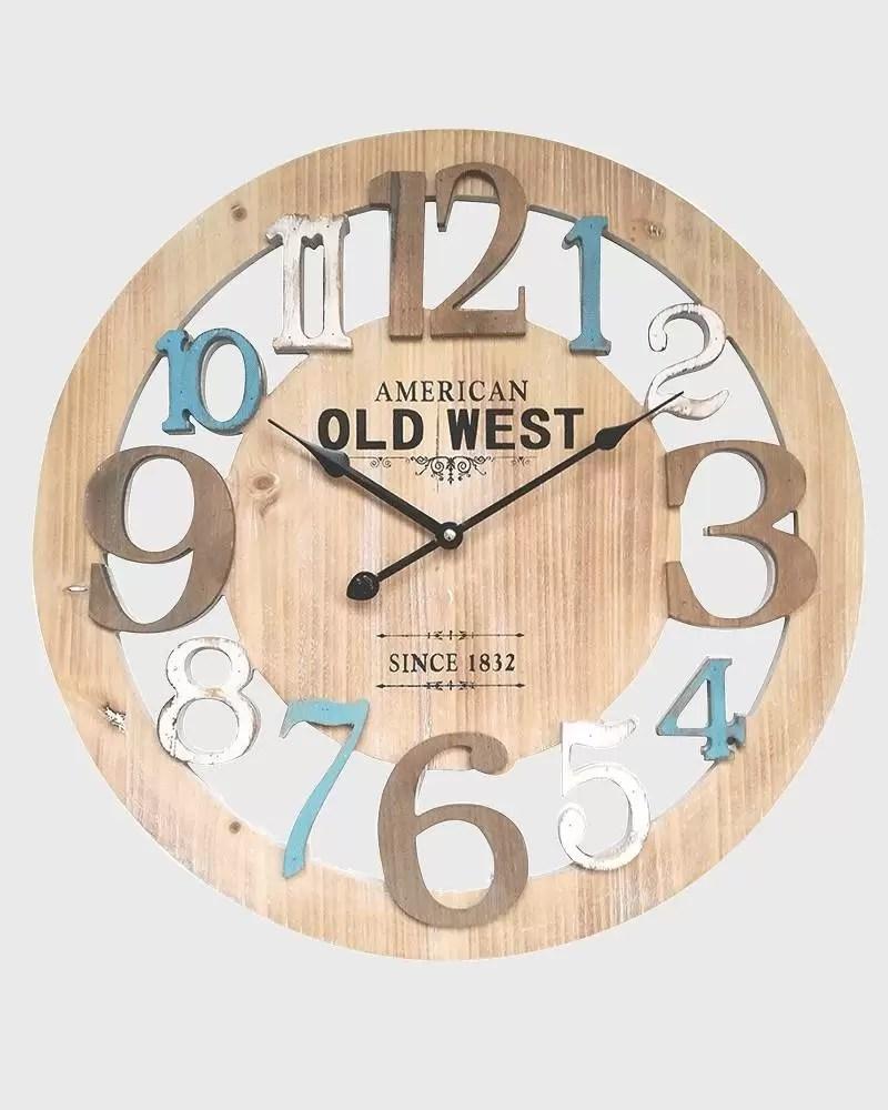 Aggiungi ai preferiti aggiungi a orologio da parete moderno orologio da parete. Orologio Da Parete Moderno Con Numeri Azzurri E Bianchi Mobili Rebecca