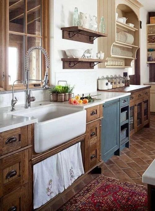 Quando lo stile vintage entra in cucina! Tutto Il Fascino Rustico Delle Cucine Country Chic Rebecca Mobili