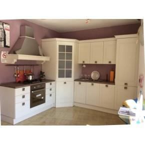 Cucina bianca L 330 cm ART Imperia  Mobili Recchia