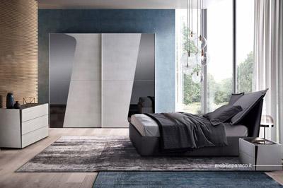 Le sue forme sinuose la rendono particolarmente romantica. Shape Camere Da Letto Moderne Mobili Sparaco