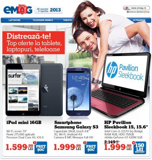 Oferta eMAG - Telefoane si tablete