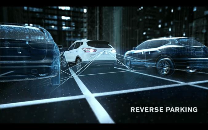 Reverse Parking Qashqai