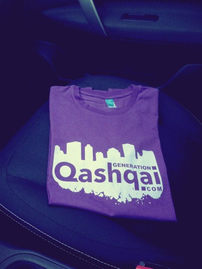 t-shirt generationqashqai