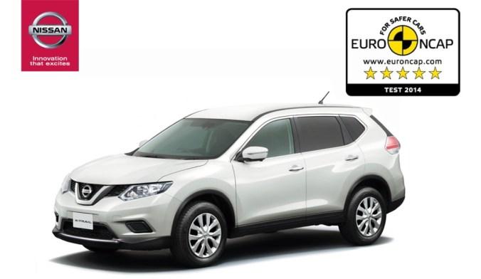 Nissan X-TRAIL EuroNCAP 2014