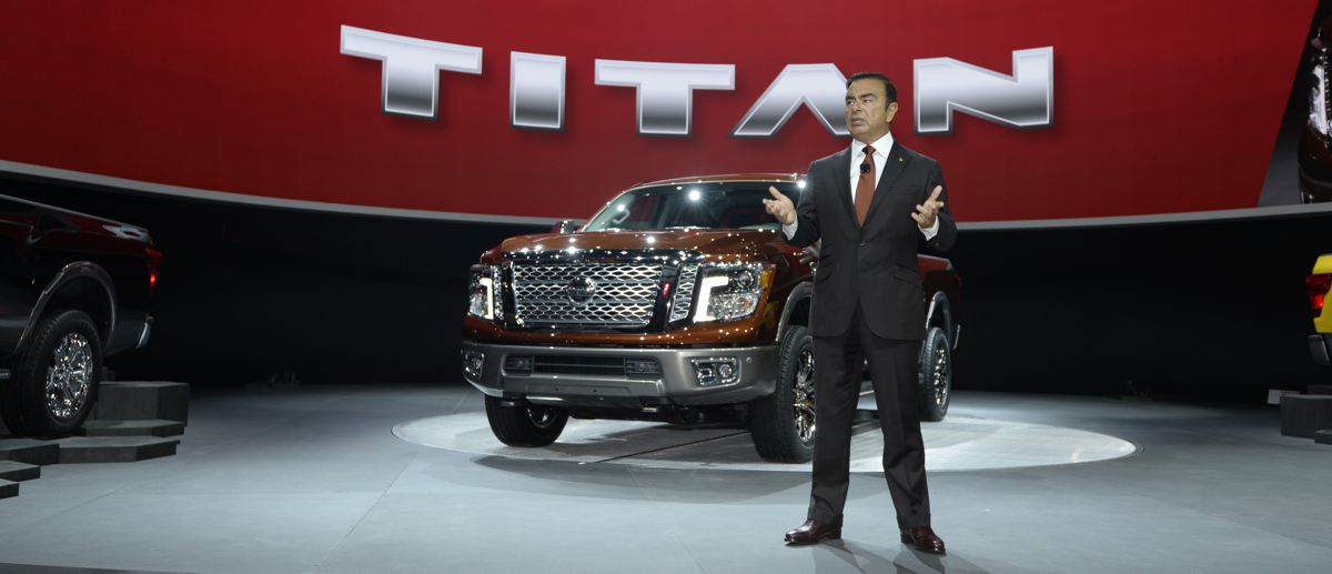Carlos GHOSN Nissan TITAN