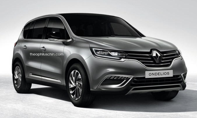 Crossover 7 places Renault