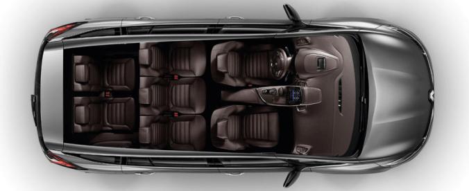 Renault Espace crossover en famille