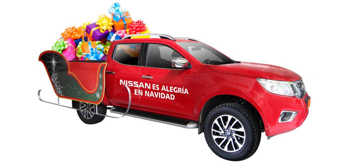Le Père Noël roule en NAVARA 2016