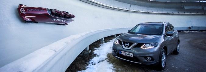 Bobsleigh Nissan X-Trail