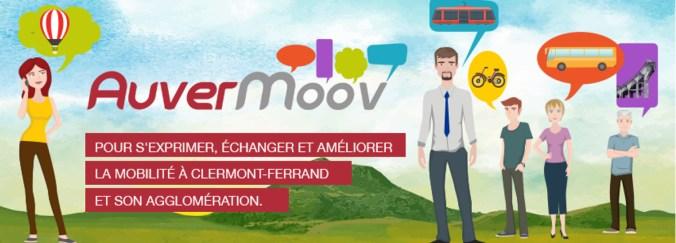 Auvermoov la mobilite à Clermont-Ferrand
