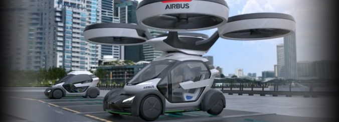 Airbus Pop.Up la voiture volante